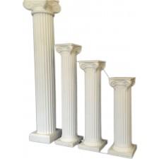 """72"""", 48"""", 40"""", or 32"""" White Column"""