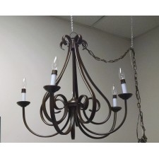 Small Brown Chandelier