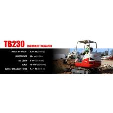 Takeuchi TB230 Excavator